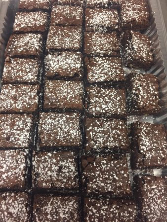 Bolingbrook, IL: Freshly made brownies