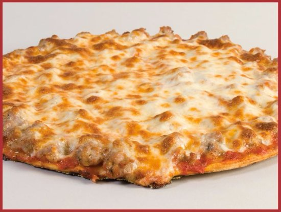 Bolingbrook, IL: Our thin crust sausage pizza