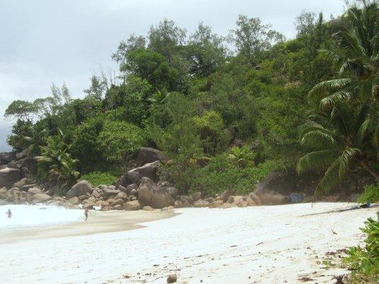 Anse Georgette: une vue de la plage Georgette