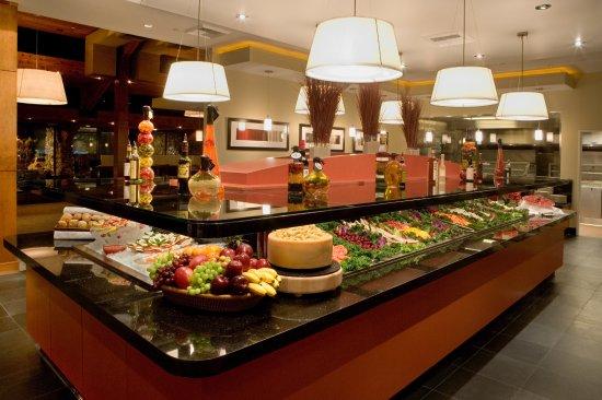 Irvine, Californië: Salad Bar