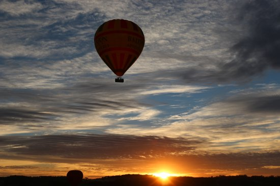 Nuriootpa, ออสเตรเลีย: Beauitful Barossa Valley sunrise