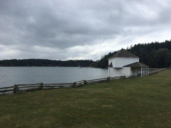 San Juan Islands, WA: English camp.