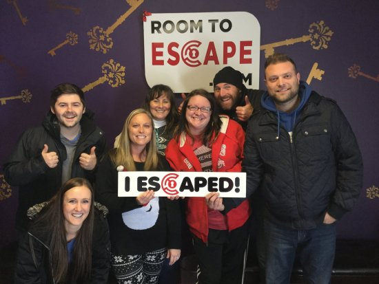 Fort Wayne, IN: Braved the weather to escape!