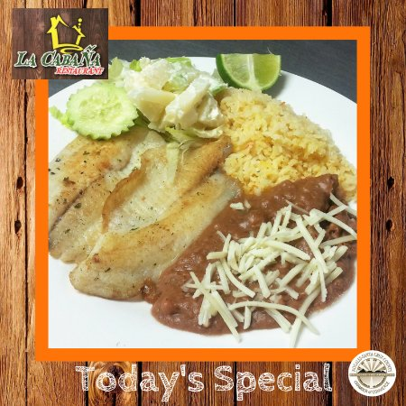 Nogales, AZ: Our Fish Special!