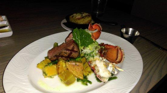 Verandah: Filet and lobster