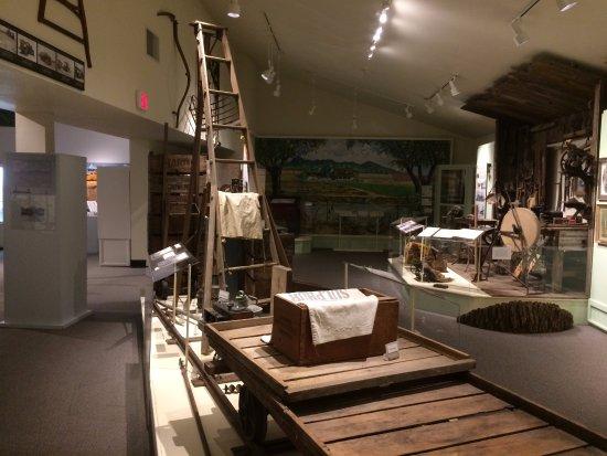 Yuba City, Californien: museum has several large rooms full of exhibits