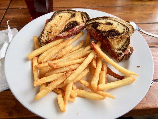 High Springs, FL: Reuben sandwich plate