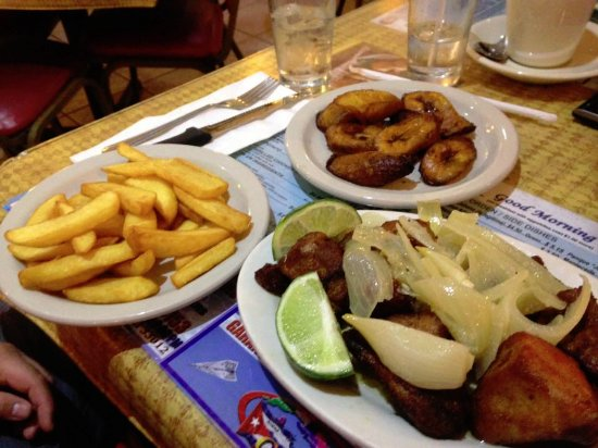 Hialeah, FL: Fried pork meat