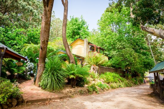 Olinda, Australia: Mills spa cottage
