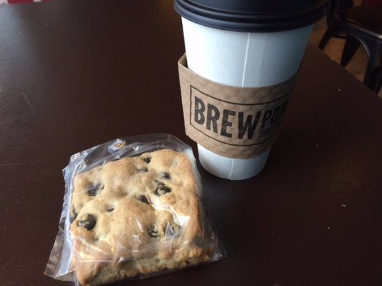 Elmhurst, IL: Skip the blueberry scone! It's not ver good.