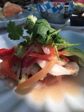 Monty's Raw Bar: Shrimp ceviche...