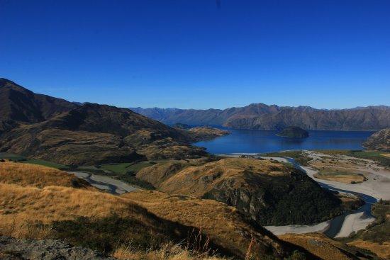 Wanaka, Nueva Zelanda: Rocky Mountain Summit Panorama (I).
