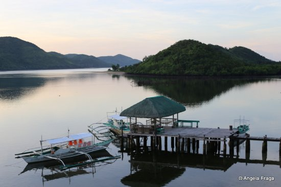 La Estancia Busuanga: A good view of the dock from our room.