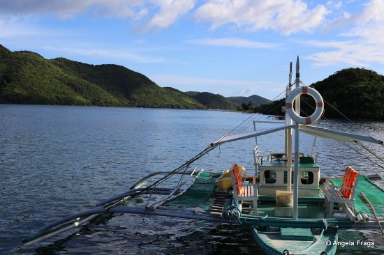 La Estancia Busuanga: One of two boats available for transfers and island hopping.