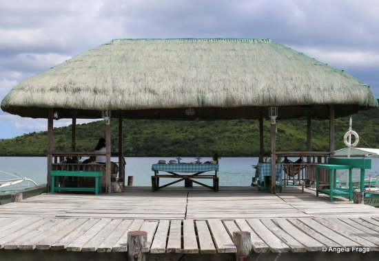 Busuanga Town, Philippines: The bigger, welcome hut.