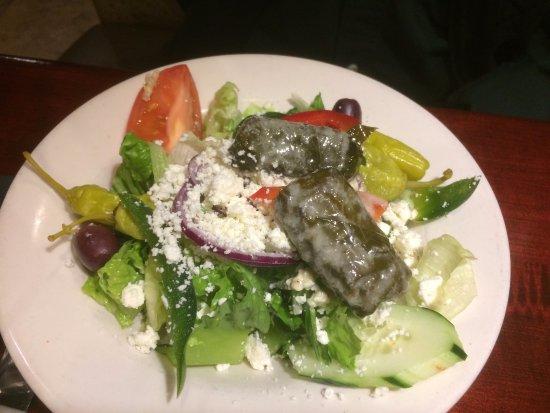 Alpharetta, Georgien: Greek salad