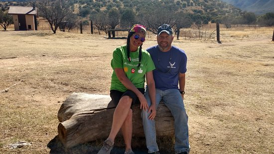 Sierra Vista, AZ: Me and my lovely wife, relaxing