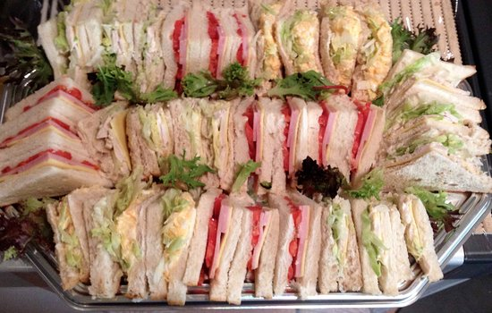 Эшмор, Австралия: Sandwich platter - ideal for meetings