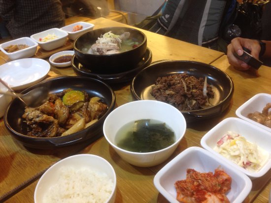 Makanan Yang Kami Order Yummy Picture Of Eid Halal Korean