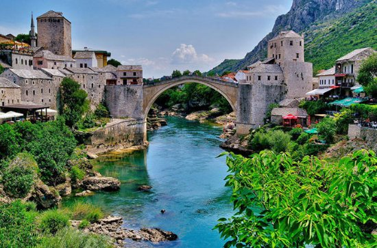 Full-Day Mostar, Bosnien og...