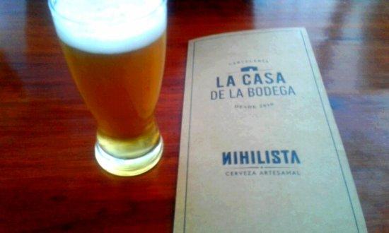 Cipolletti, อาร์เจนตินา: cerveza de nihilista, exquisita