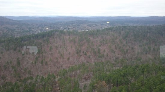 Hot Springs Mountain Tower: View from the top