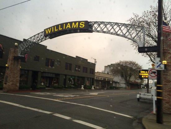 Williams, CA: The tradition arch