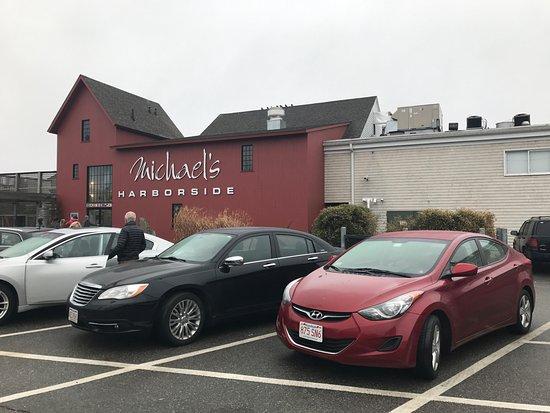 Newburyport, MA: Parking lot