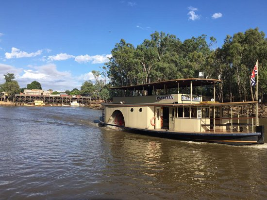 ‪Murray River Paddlesteamers - PS Canberra‬