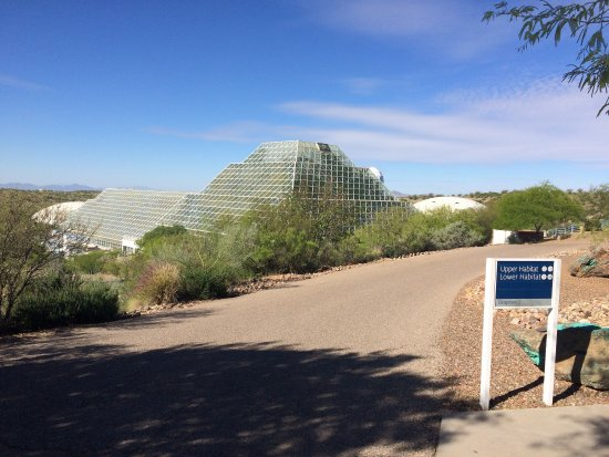 Taking a tour of Biosphere 2 in Oracle, AZ is a unique educational experience