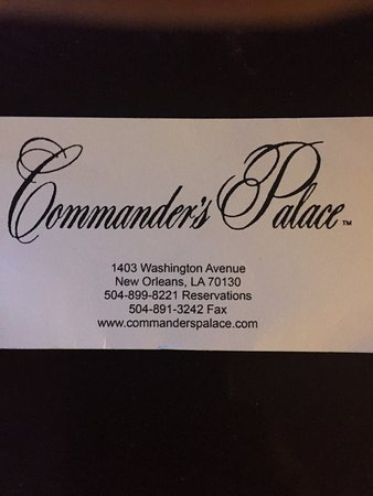 Commander's Palace : photo0.jpg