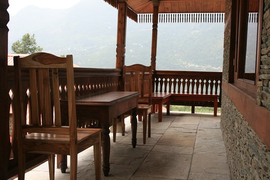Karjan, Индия: Sit outs at Taala Restaurant at ShivAdya
