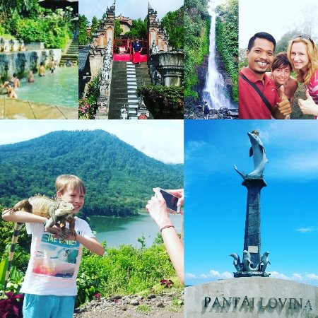 Lovina Beach, Indonesia: lovina tour with family from checko republic