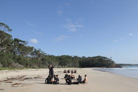 Australian Surf Tours: Bendalong beach