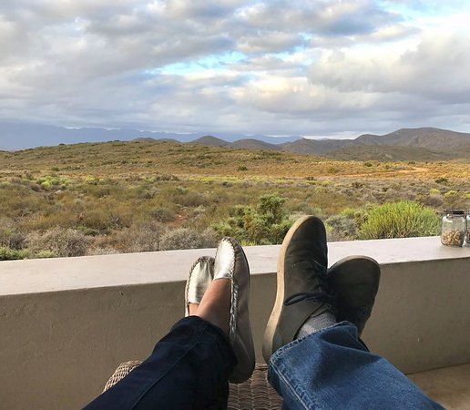 McGregor, South Africa: View from the stoep