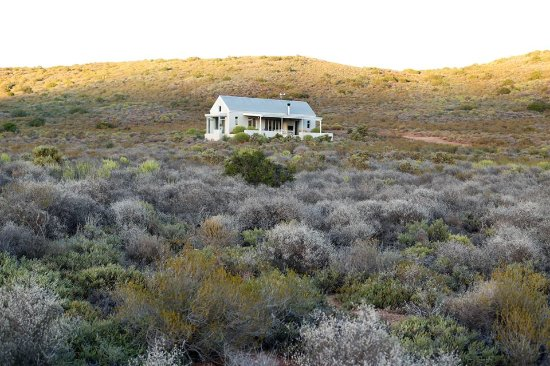 McGregor, South Africa: The cottage early in the morning
