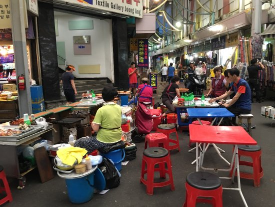 Looking for authentic Korean food! Gwangjang Market is a traditional street market you cannot mi