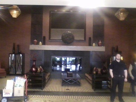 Washington, PA: The Fabulous Lobby! Felt like a Huge Homey Lodge I Love It!