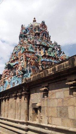 Thiruvarur, India: Srivanchiyam temple 3
