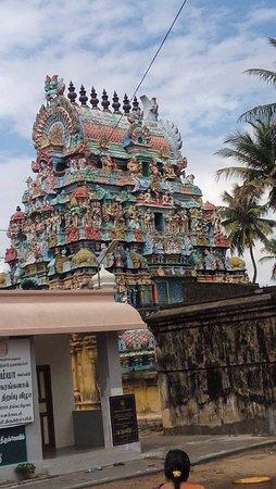 Thiruvarur, India: Srivanchiyam temple 4