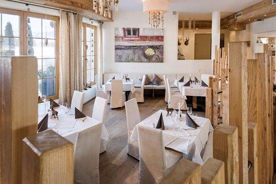 Restaurantbereich vom Hotel Saliter Hof