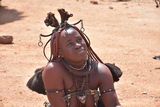 Kamanjab, Namibie : donna Himba