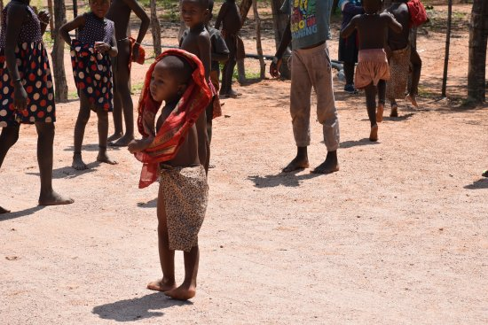 Kamanjab, Namibie : bimbo Himba