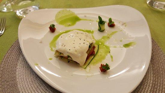 Swellendam, Südafrika: Vegetable lasagna
