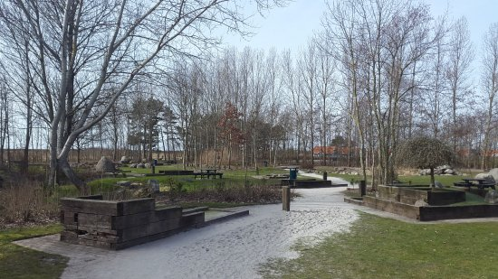 Roedby, Denmark: Outdoor mini-golf track