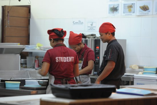 Students Hone Their Culinary Skills In A State Of The Art ...