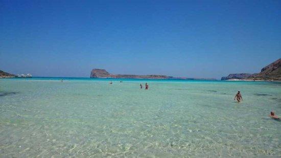 Balos Beach and Lagoon: un vrai lagon d'eau transparente