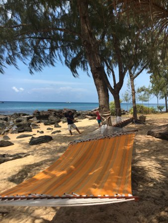 Mango Bay Resort: Tai Chi am Strand ist beruhigend und lehrreich.