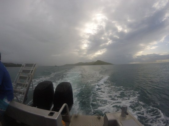 Rakiraki, Fiyi: The rare photo, as we used the GoPro for Videos. Sunset Cruise