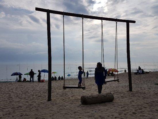 Kuala Terengganu, Malaysia: New attraction in Batu Buruk Beach